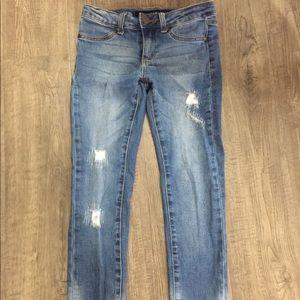Joe's Jeans skinny distressed girls size 10